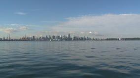 Skyline Vancouver, Canada stock footage