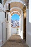 Skyline from Vejer de la Frontera, Andalusia, Spain Royalty Free Stock Images