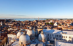 Skyline Venezia Dome San Marco, Venice, Italy Royalty Free Stock Photography