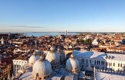 Skyline Venezia Dome San Marco, Venice, Italy Royalty Free Stock Photography