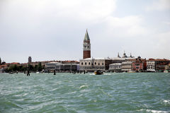 Skyline of Venice, Italy - from Murano. Skyline of Venice, Italy - from seaside Royalty Free Stock Image