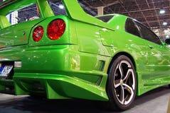 Skyline verde de Nissan Imagens de Stock