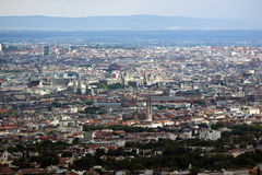 Skyline of Vienna Stock Image