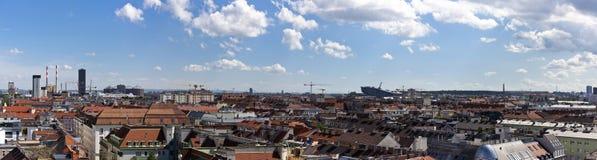 Skyline Vienna royalty free stock photography