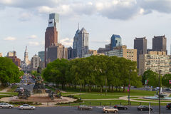 Skyline view of Philadelphia, Pennsylvania - USA Stock Image