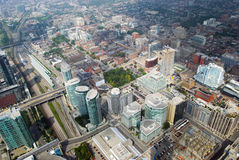 Skyline view of Toronto, Ontario, Canada Stock Images