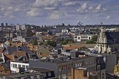 Skyline von Brüssel Stockfotografie