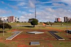 Skyline von Brasilien Stockbild