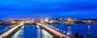 Skyline von Charleston Lizenzfreie Stockfotos