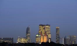 Skyline von Den Haag Stockfoto