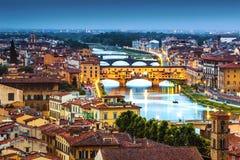 Skyline von Florenz Lizenzfreie Stockbilder