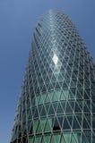 Skyline von Frankfurt Deutschland Lizenzfreies Stockbild