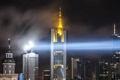 Skyline von Frankfurt am Main Deutschland Stockbild