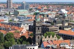Skyline von Hannover, Deutschland, Europa Lizenzfreie Stockfotos