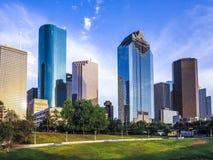 Skyline von Houston Lizenzfreie Stockfotos