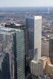 Skyline von Houston Stockfotografie
