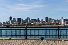 Skyline von im Stadtzentrum gelegenem Montreal, Kanada Lizenzfreie Stockfotos