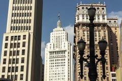Skyline von im Stadtzentrum gelegenem Sao Paulo lizenzfreies stockfoto