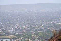 Skyline von Jaipur-Stadt Lizenzfreie Stockfotografie