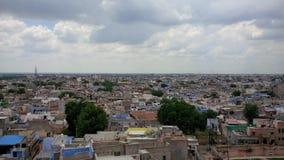 Skyline von Jodhpur-Stadt Rajastan Lizenzfreie Stockfotos