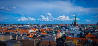 Skyline von Kopenhagen Stockbilder