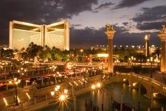 Skyline von Las Vegas lizenzfreie stockbilder