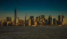 Skyline von Manhattan Lizenzfreie Stockbilder