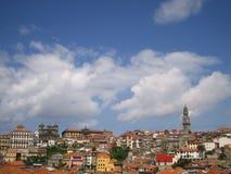 Skyline von Porto Lizenzfreie Stockbilder