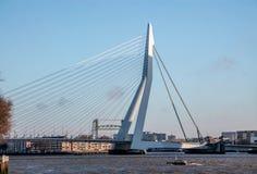 Skyline von Rotterdam, die Niederlande Stockfotografie