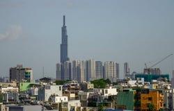 Skyline von Saigon Ho Chi Minh City stockfotografie