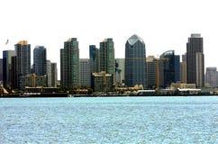 Skyline von San Diego stockfotografie