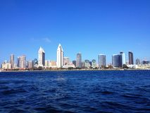 Skyline von San Diego Stockfotos