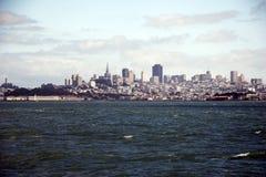Skyline von San Francisco, Kalifornien, USA Lizenzfreies Stockbild