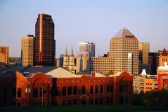Skyline von St. Paul Minnesota lizenzfreie stockfotos