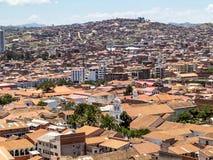 Skyline von Sucre, Bolivien stockfotografie