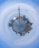 Skyline von Toronto Stockfotografie