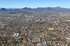 Skyline von Tucson, Arizona lizenzfreie stockfotografie