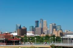 Skyline von U von Minnesota Lizenzfreies Stockbild
