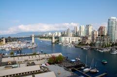 Skyline von Vancouver Lizenzfreies Stockbild