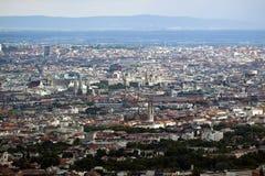 Skyline von Wien Stockbild