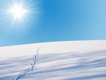 skyline winter Stock Image