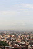 Skyline of Yerevan Royalty Free Stock Image