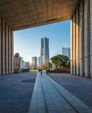 Skyline of Yokohama Cityscape, Japan Stock Image