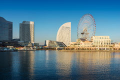 Skyline of Yokohama Cityscape, Japan Royalty Free Stock Images