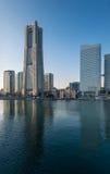 Skyline of Yokohama Cityscape, Japan at Minato Mirai 21 Area Stock Photos