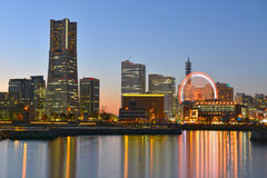 Skyline of Yokohama Royalty Free Stock Image