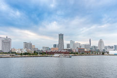 Skyline of Yokohama, Japan Stock Photography