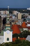 skyline2 zagreb Стоковая Фотография RF