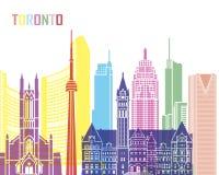 Skylineknall Torontos V2 Stockfotografie