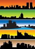 Skylines Imagem de Stock Royalty Free